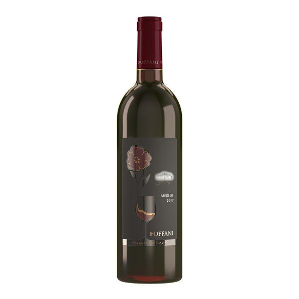 Bottiglia di Merlot Foffani