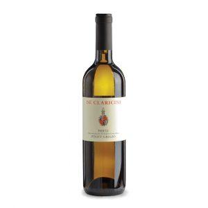 Bottiglia Pinot Grigio DeClaricini