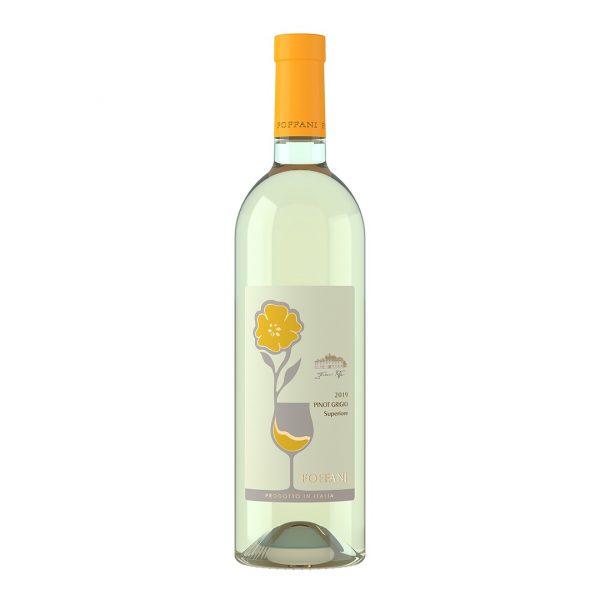 Bottiglia di Pinot Grigio Superiore Foffani