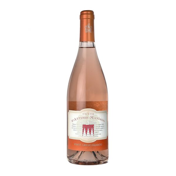 Bottiglia Pinot Grigio Ramato Conte Attimis