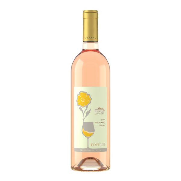 Bottiglia di Pinot Grigio Ramato Foffani