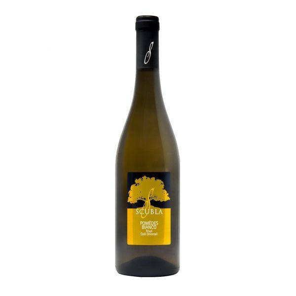 Bottiglia di Pomedes Bianco di Scubla Roberto