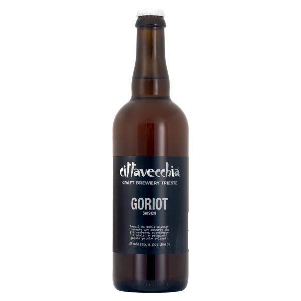 Bottiglia di Birra Goriot Cittavecchia