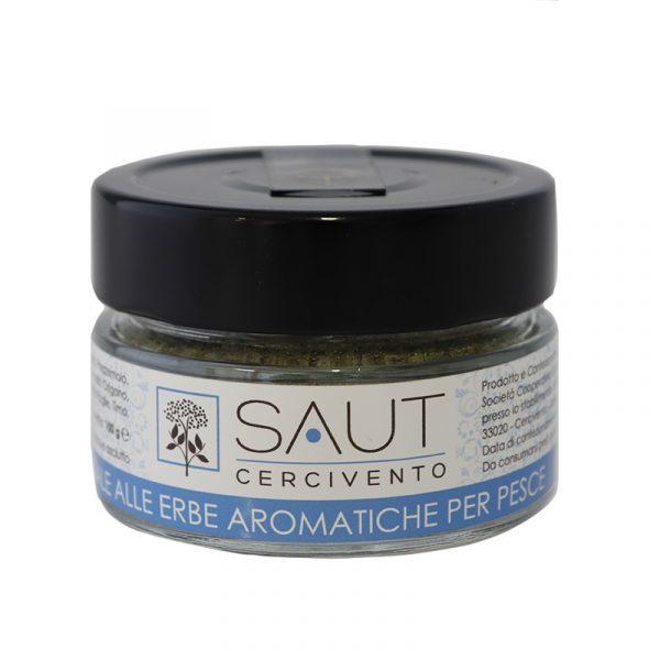 Sale alle erbe aromatiche per pesce Saut